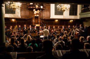 Koor De Stemming concerten 15 en 16 december Amsterdam en Weesp. Foto Harald van Eck.