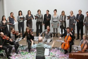 Koor De Stemming en orkest